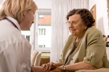 Going into a care home