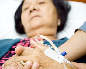 Hospitals and elderly people