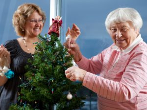 How to cope with Christmas when your relative is in care