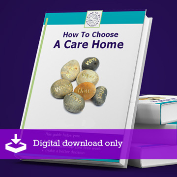 How to choose a care home book
