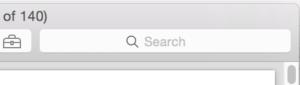 Search box on PDF document