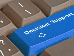 When is the Continuing Healthcare Decision Support Tool completed?