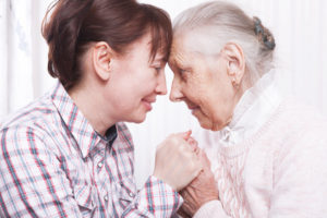 Should you challenge flawed process in NHS Continuing Healthcare - mother and daughter