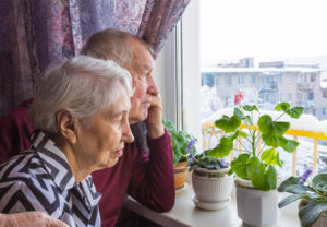 Elderly couple - Should you pay for your partner's care?