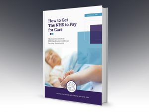 How to get the NHS to pay for care book